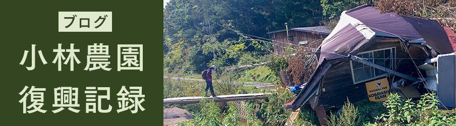 ブログ小林農園復興記録